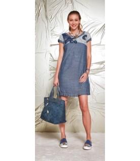 Джинсовое платье Elisa Cavaletti