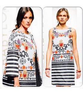 Платье Babylon полоска