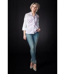 Рубашка Elisa Cavaletti с серебряным напылением