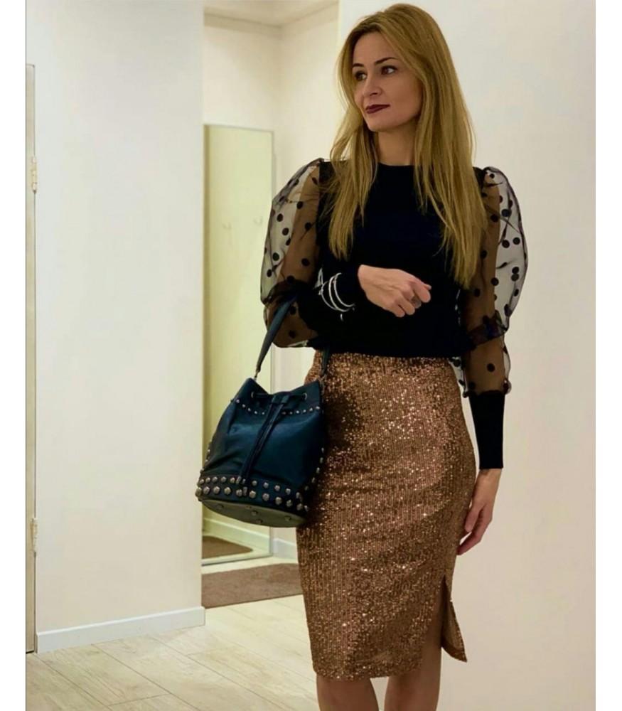 Блузка с пышными рукавами Joleen